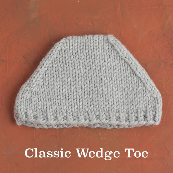 sock toe decreases