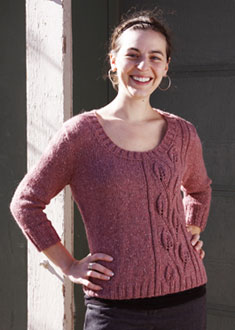 Knitting Gallery - Climbing Vines Pullover Annie