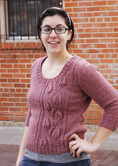 Knitting Gallery - Climbing Vines Pullover Stefanie