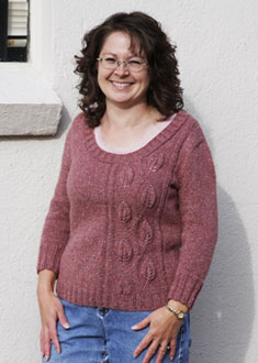 Knitting Gallery - Climbing Vines Pullover Debbie