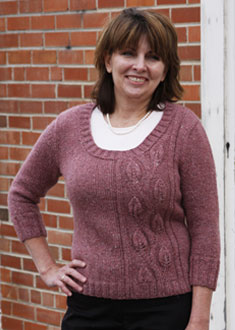 Knitting Gallery - Climbing Vines Pullover Bonnie