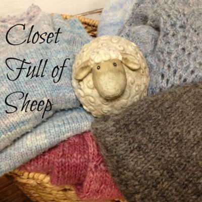 closet full of sheep