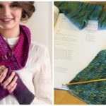 WIP Wednesday: Ombré Cowl and Fingerless Mitts