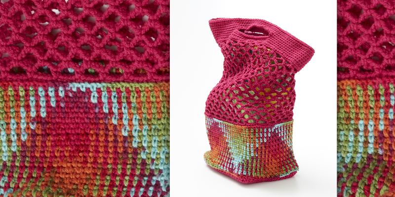 Color Pooling 103: Crocheting Wider Projects in Argyle
