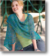 Cool Waves Shawl by Sheryl Means | CrochetMe.com