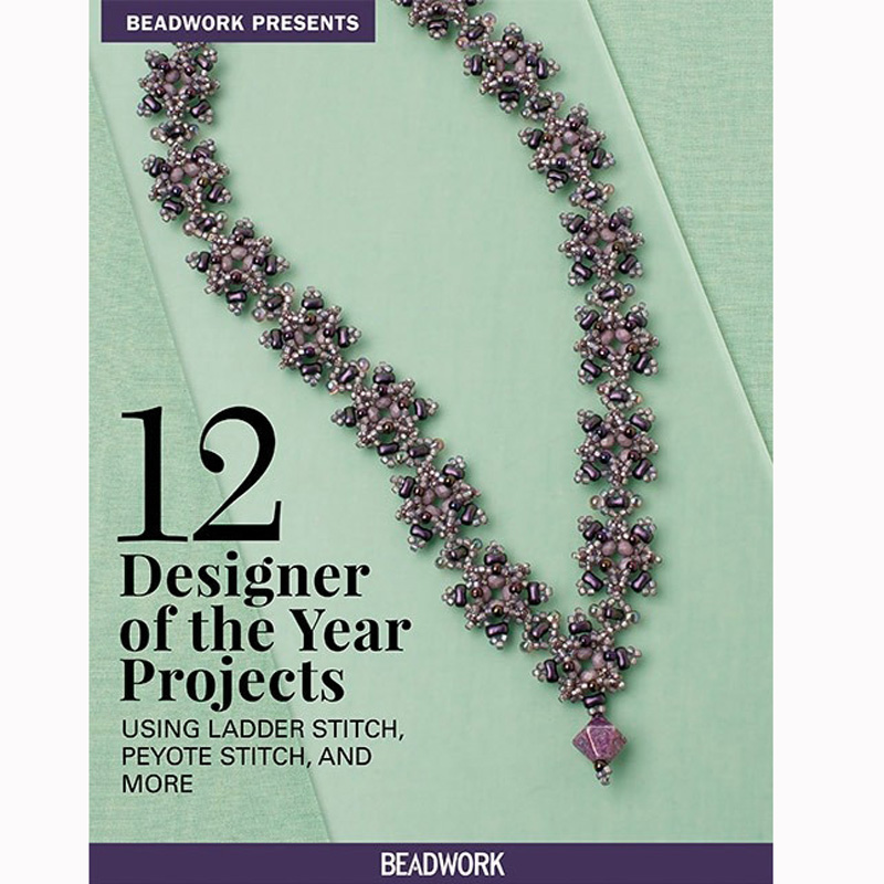 Discover new inspiration from unique projects by Beadwork Designers of the Year Laura Andrews, Leslee Frumin, Christina Neit, Glenda Paunonen, and Liisa Turunen in Beadwork Presents: 12 Designer of the Year Projects Using Ladder Stitch, Peyote Stitch, and More.