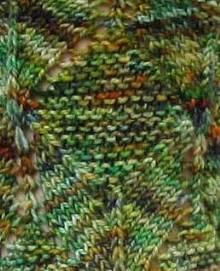 Cubist pattern closeup