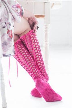 Corset Socks Crochet Pattern