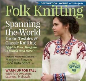 Cover Folk Knitting