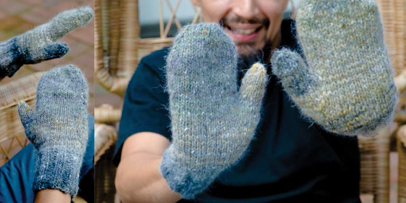 Quick Knit Gifts - Cozy Mittens