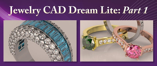 learn to use computer-aided design in our Jewelry CAD Dreams Lite class at CraftU