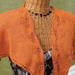 Creamsicle Shawlette: Free Knitting Pattern