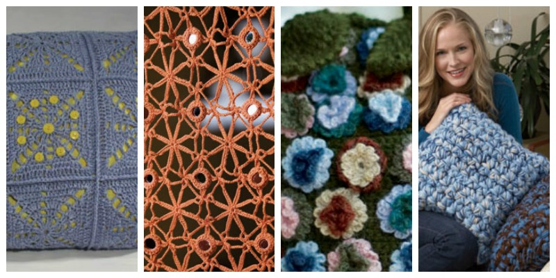 Free eBook: 4 Free Crochet Home Decor Patterns