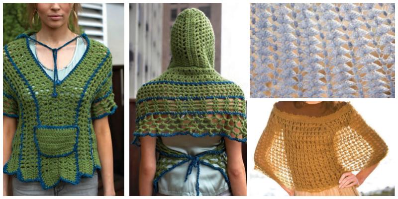 Free Crochet Poncho Patterns