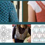 Four Fabulous Free Crochet Tops