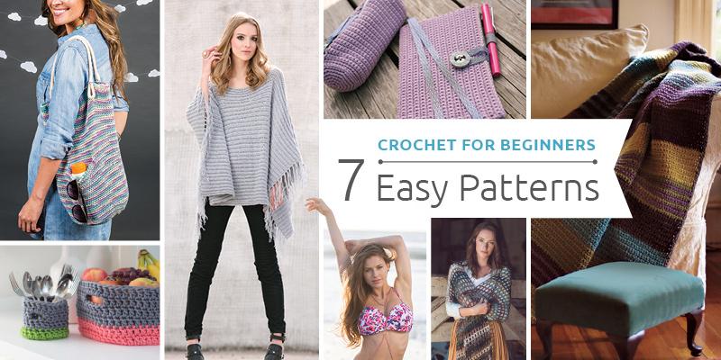 Get Started on 7 Beginner Crochet Patterns