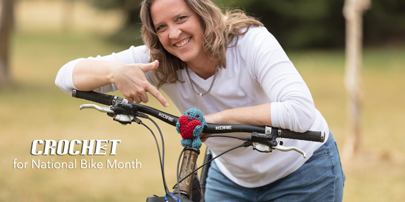 Handmade Fun for National Bike Month