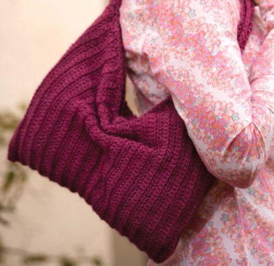 The Slouchy Purse by Drew Emborsky is a beautiful crochet purse pattern that can be found in our free eBook.