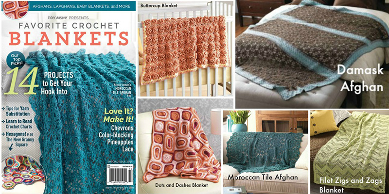Make Multitudinous Motifs from Favorite Crochet Blankets