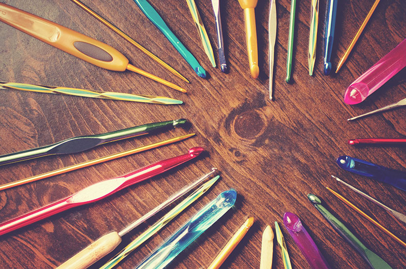 Types of Crochet Hook Materials