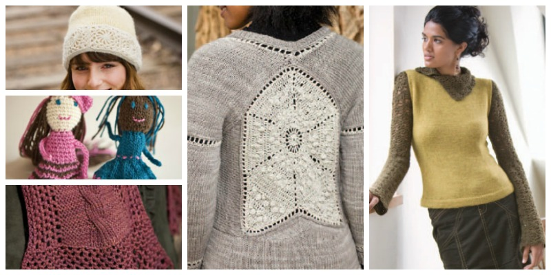 Crochet And Knitting Patterns Ebook 5 Free Patterns Interweave
