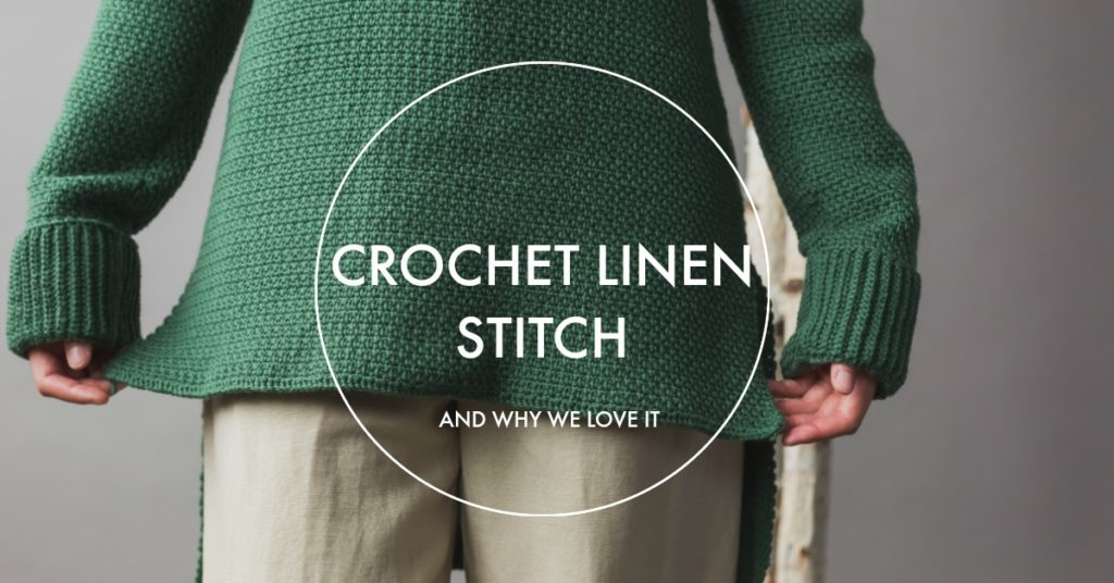 What Is the Crochet Linen Stitch? And Why Is It Awesome?