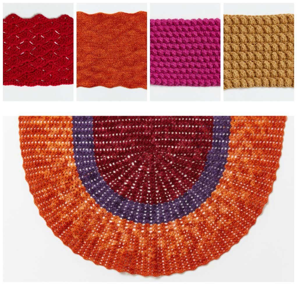 Candy-colored crochet compendium