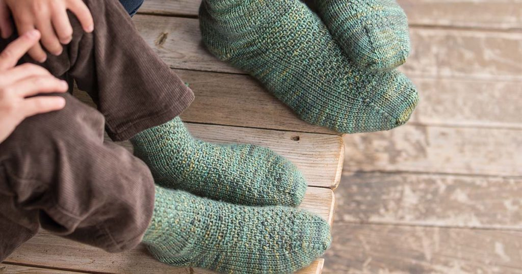 Check Sock Knitting Off Your Resolution List in No Time with the Cuff to Cuff Socks
