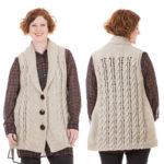 Knit the Perfect Plus-Sized Cardi Vest
