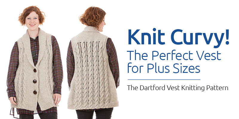 Knit the Perfect Plus-Sized Cardi Vest