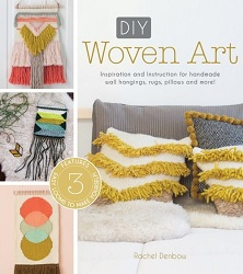 Learn how to weave your own DIY woven tapestry with this book of tapestry projects and weaving inspiration!
