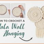 The DIY Crochet Mandala Wall Hanging Kit You Need Now