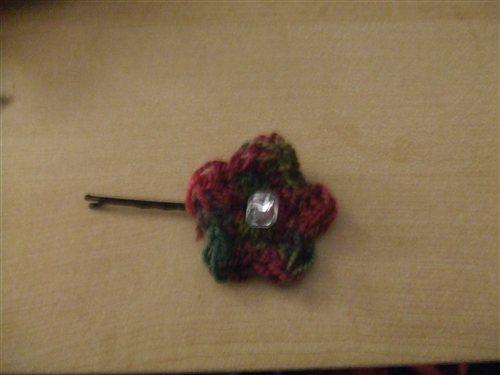 Crochet Hair Clip Pattern Interweave