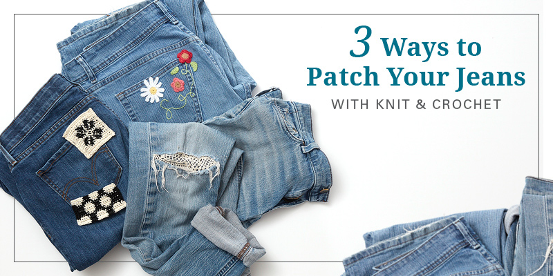 Pretty Up Your Thrift Store Swag with Crochet!