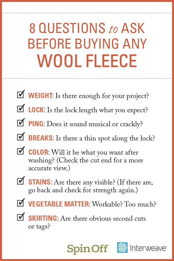 Fleece Checklist