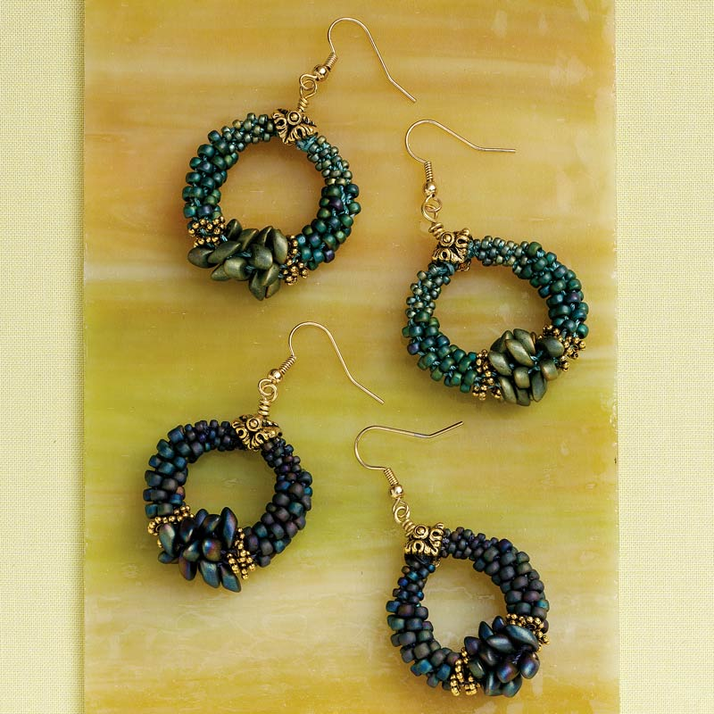 Artistic Creativity: 9 Genius Tips for Getting Out of a Creative Rut. Kumi Hoops by Sonia Corbin-Davis