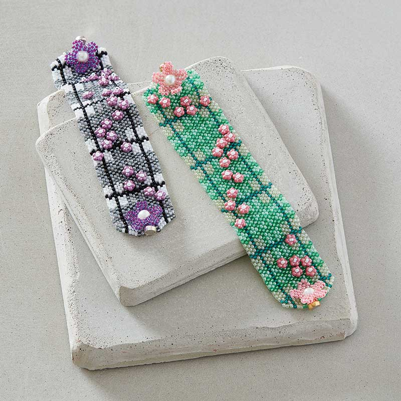 Blooming Tartan Bracelet