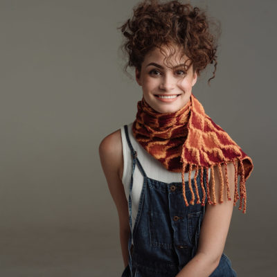 Handwoven Loom Theory: Eight & Over Eight Scarf Collection