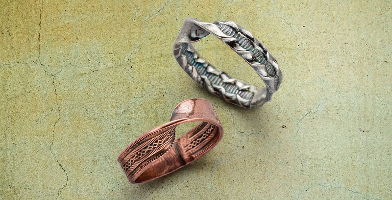 Wire Jewelry Making with a Twist: Inside Out Mobius Patterned Wire Ring
