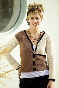 The Devon Cardigan is a crochet cardigan pattern found in our free Crochet Colorwork Patterns eBook.