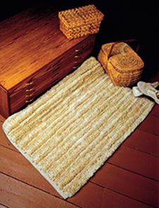 Double Corduroy Rug by Dillard