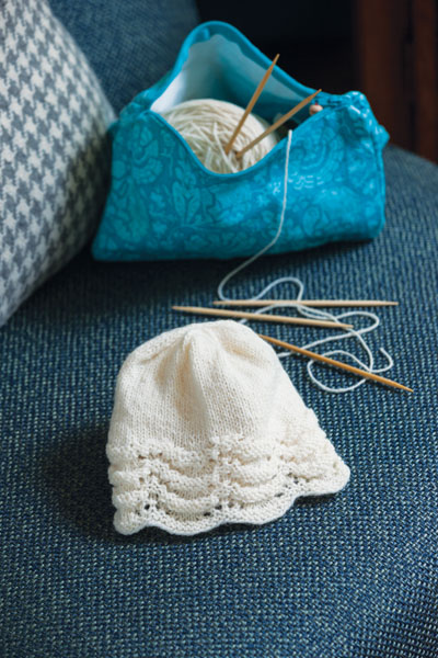 Dimity's Baby Cap to Knit, Evelyn A. Clark