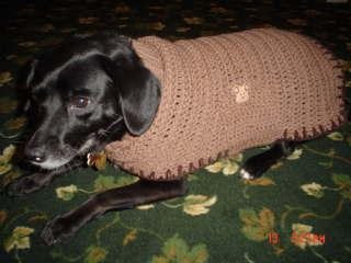 Free Crochet Patterns Dog Sweaters Large Dog : Dog Sweater Free Pattern - Interweave