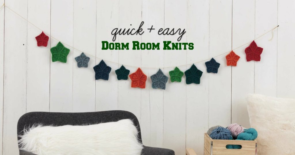 Quick and Easy Dorm Room Knits