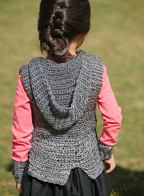 Hood of the Dragon Slayer Crochet Tunic