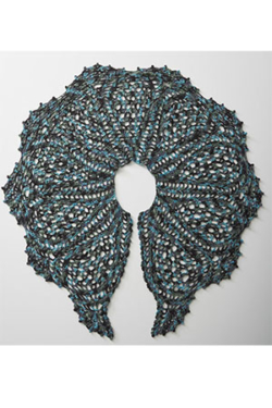 Droplets Shawl
