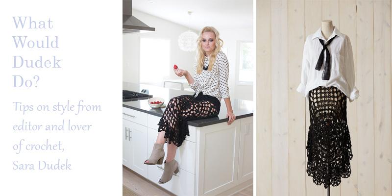 WWDD: Style Your Nightshade Crochet Skirt