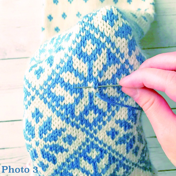 The Magic Of Duplicate Stitch Interweave