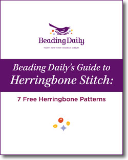 Free herringbone stitch beading patterns you have to try.