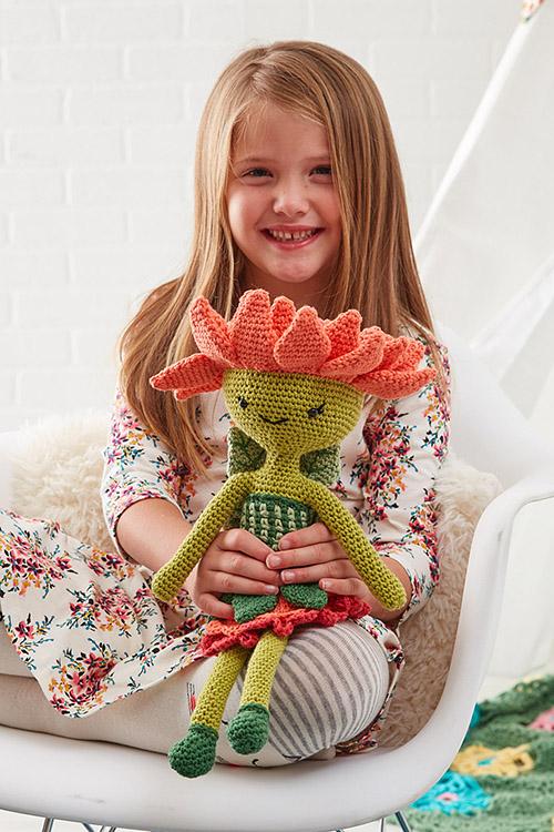sunflower-sam-oeps - Zabbez - crochet amigurumi flower dolls ...   750x500